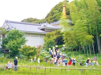 紫陽花本土寺 宝物殿です