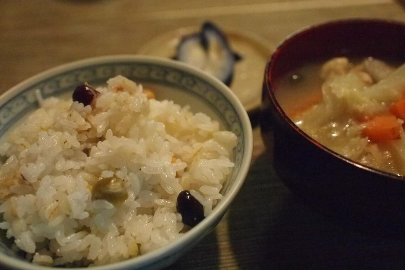 雑穀豆ごはん!