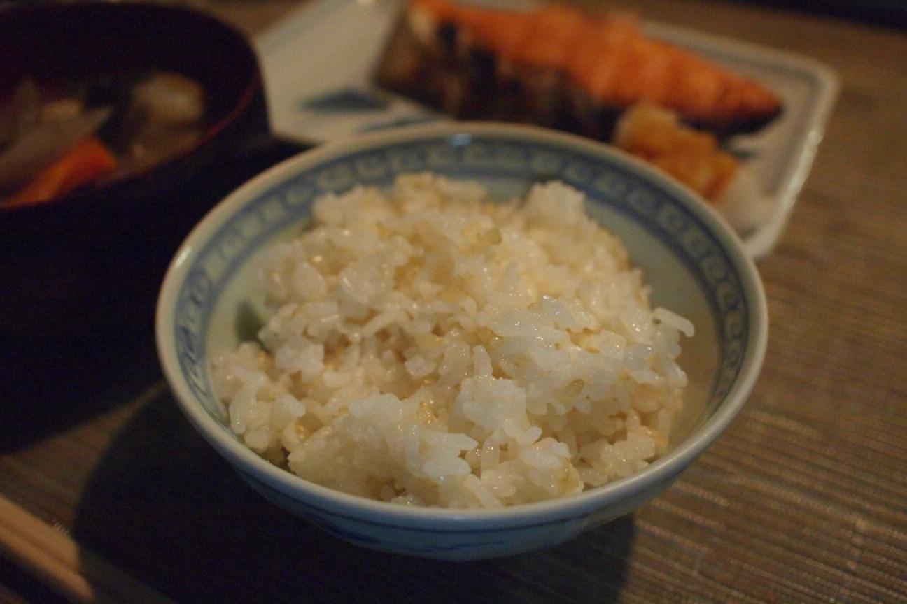 玄米入りご飯!