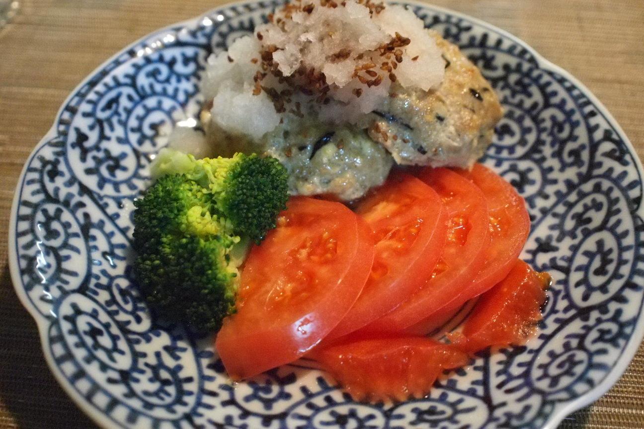 豆腐ひじきハンバーグ!