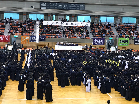 旭川開会式