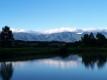 夕方の浅間連山