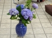 画題の紫陽花