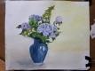 紫陽花を描いた絵