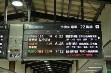 東京駅発車案内