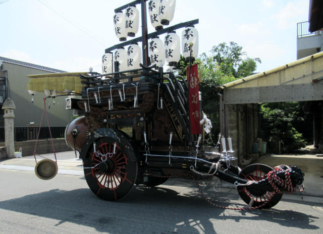 福江町の祭車2