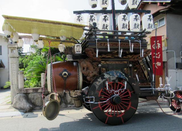 福江町の祭車5
