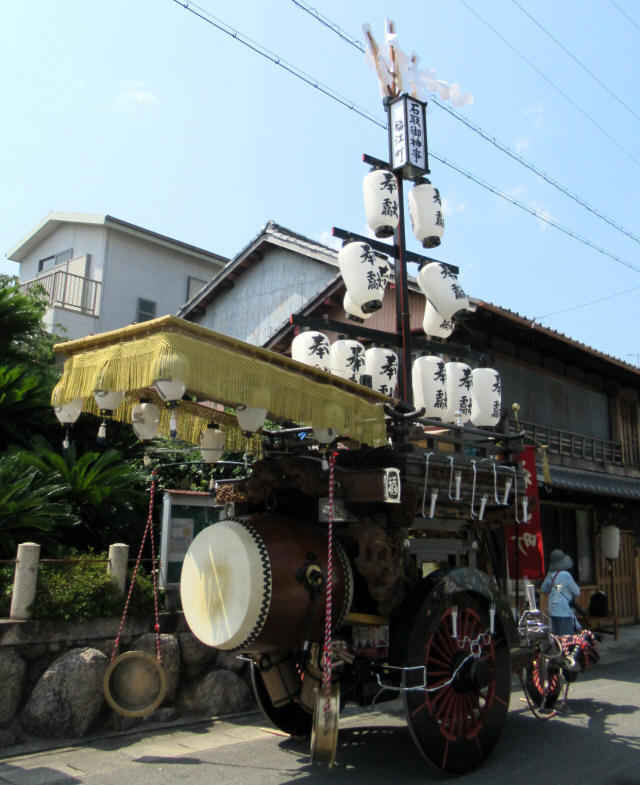福江町の祭車4