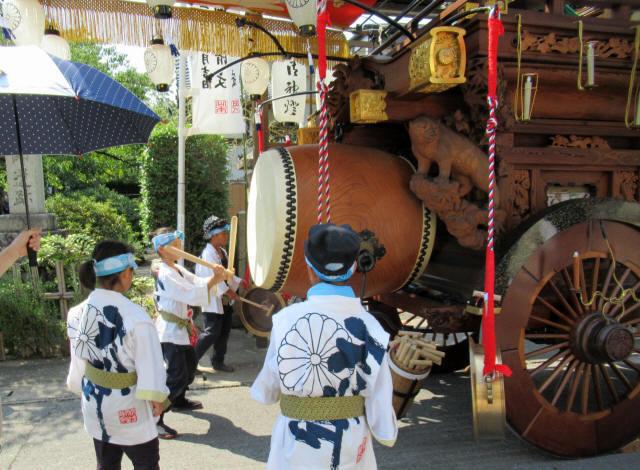 東鍋屋町の祭車3