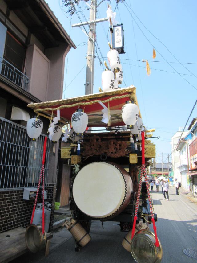 掛樋の祭車7
