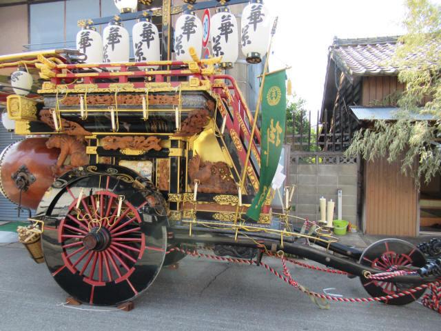 掛樋の祭車4