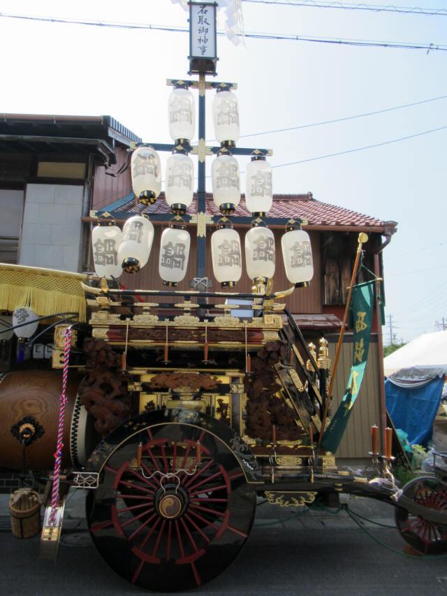 西鍋屋町の祭車1