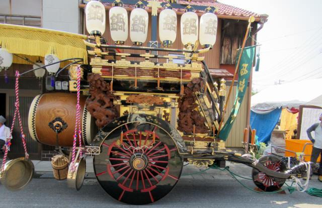 西鍋屋町の祭車4