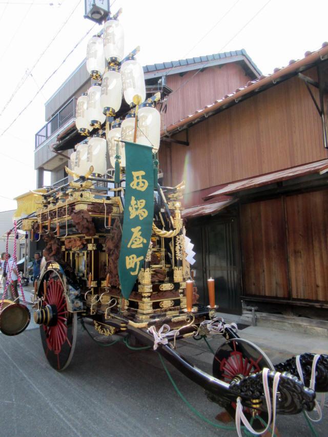 西鍋屋町の祭車2