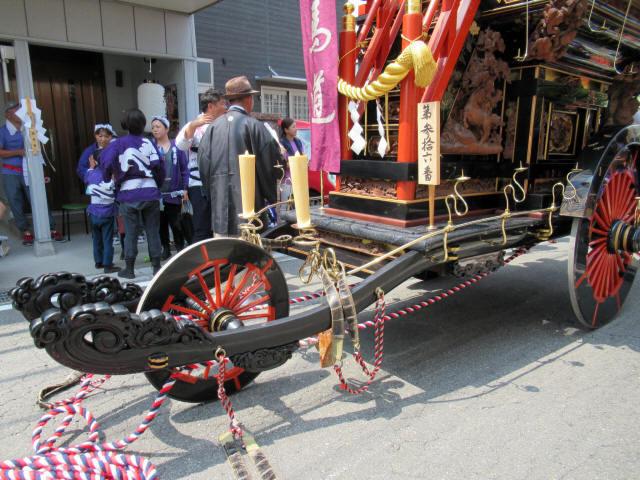 西馬道の祭車4
