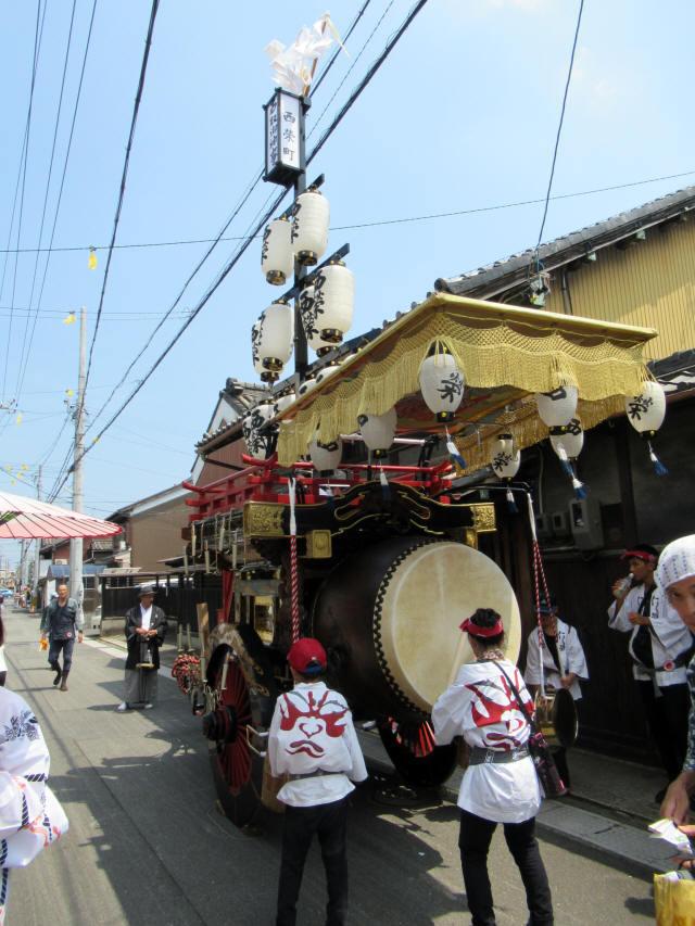 西榮町の祭車6