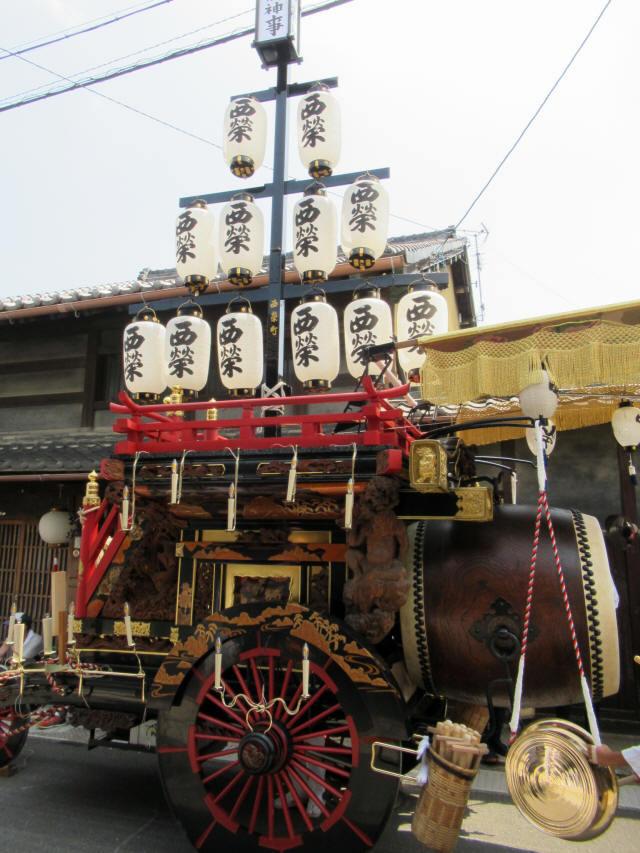 西榮町の祭車4
