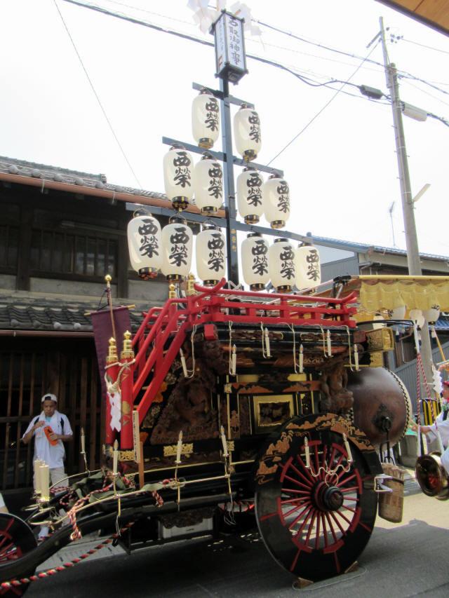 西榮町の祭車3
