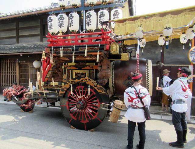 西榮町の祭車5