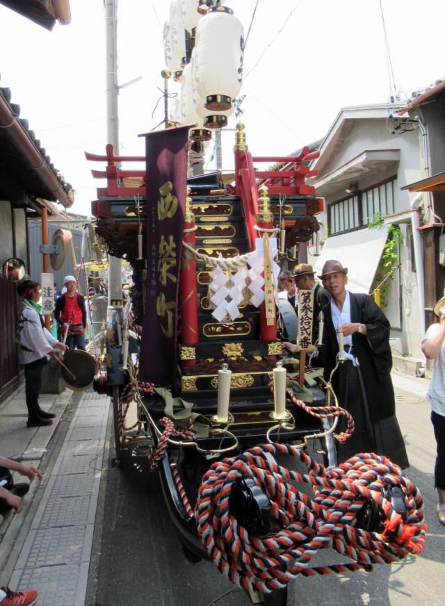西榮町の祭車2