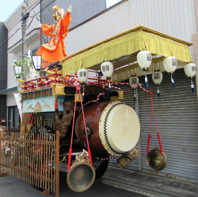 西矢田町の祭車4