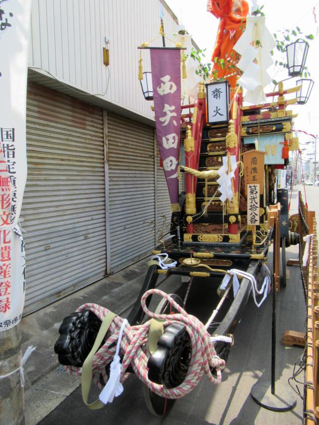 西矢田町の祭車2