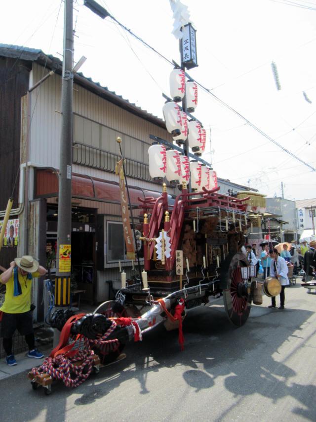 新矢田一丁目の祭車1