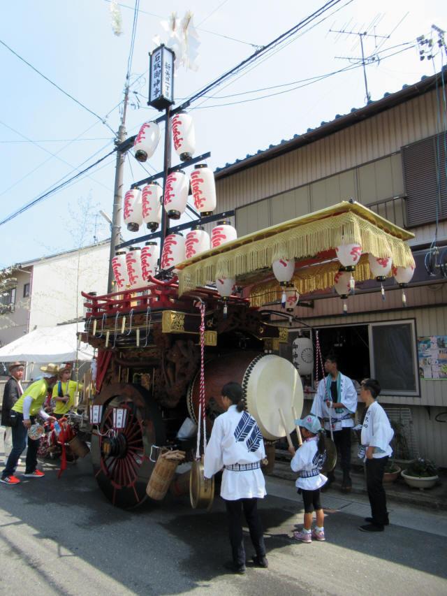 新矢田一丁目の祭車4