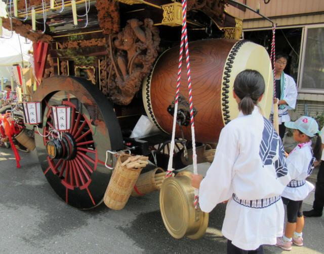 新矢田一丁目の祭車6