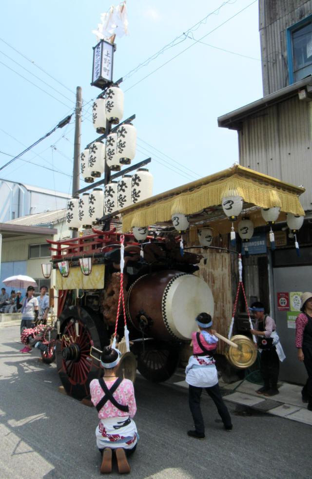 上野町の祭車6