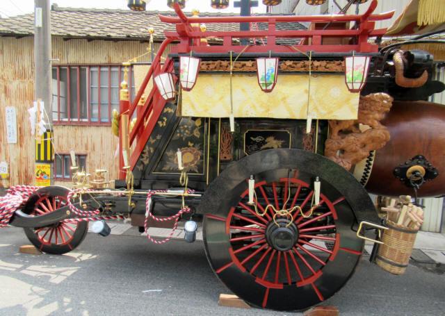 上野町の祭車5