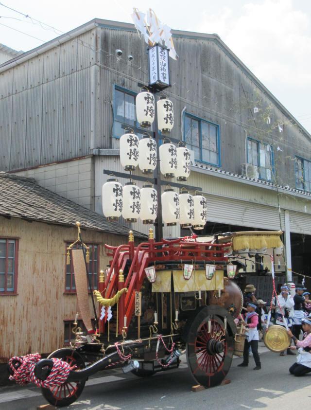 上野町の祭車4