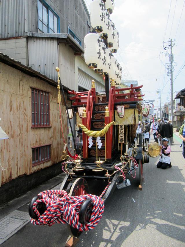 上野町の祭車2