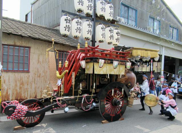 上野町の祭車3