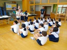 杜の里小3年生のホタル学習