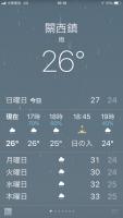 關西鎮26℃雨180617