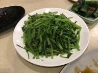 空心菜炒め180716