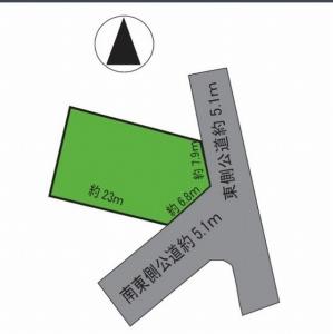 s-堅田5丁目土地形状