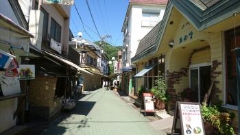 長瀞の商店街。好きだな~こんな景色^^