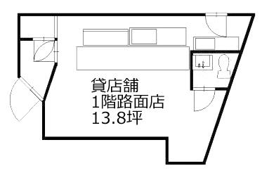 ■物件番号T5429(事業用)昭和のスナック居抜き!造作無償譲渡!鉄砲通り沿い!1階路面店!