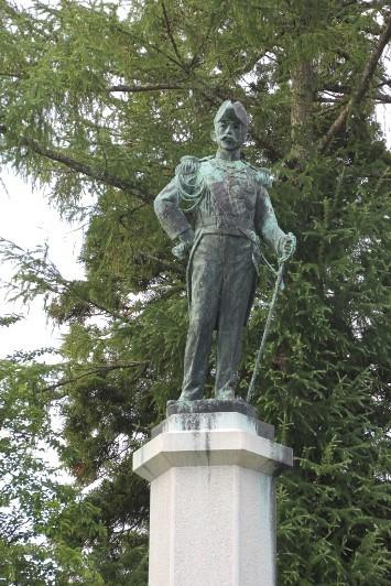 有栖川宮威仁親王銅像