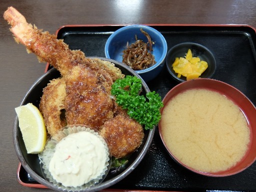 海鮮ソースカツ丼