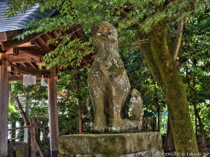 八重垣神社の狛犬