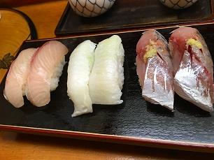 180602栄寿司@握り1
