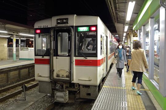 キハ112@高麗川駅