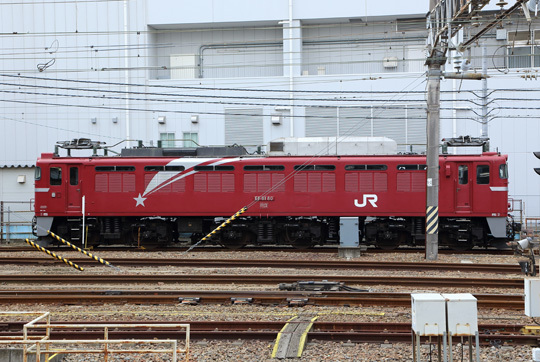 EF81星釜@水戸駅