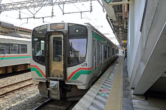 E721系@郡山駅