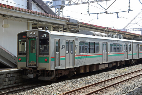 701系@郡山駅
