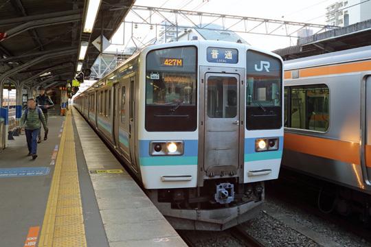 211系N604編成@高尾駅
