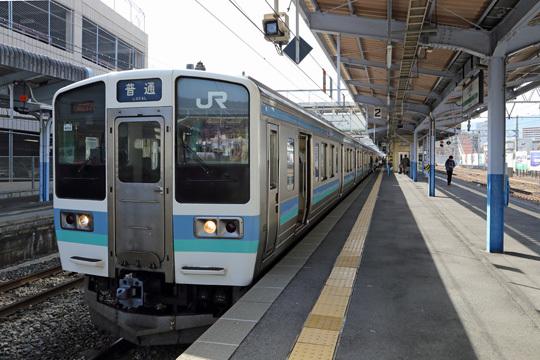 211系@上諏訪駅